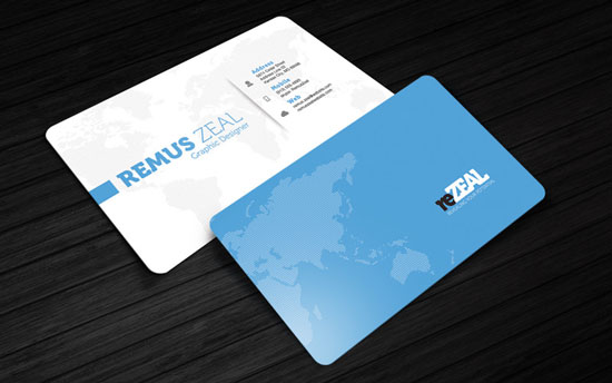 2017 free business card template 2
