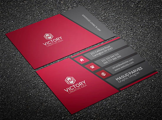 2017 free business card template 3