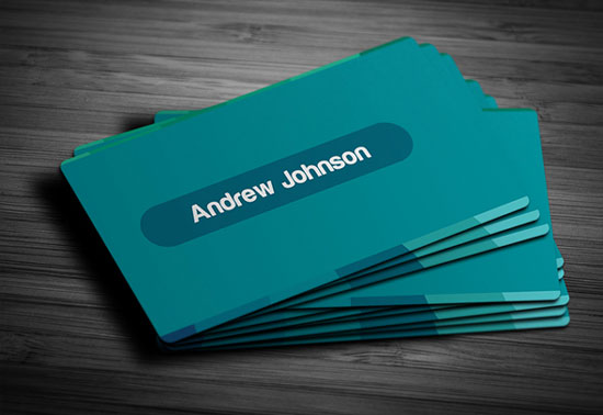 2017 free business card template 4