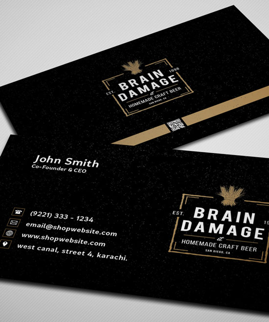 2017 free business card template 5