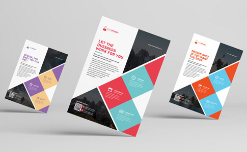 Free corporate flyer brochure template