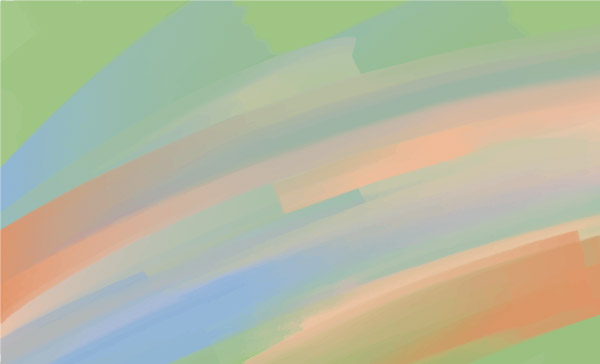 Pastel Painted Vector Background 3