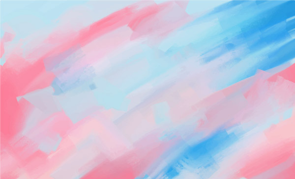 Pastel Painted Vector Background 4