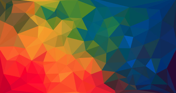 Colorful low poly background 1
