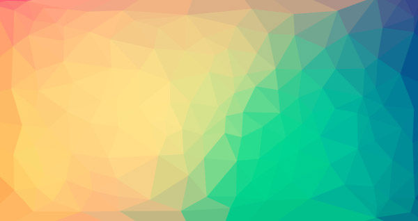 Colorful low poly background 2