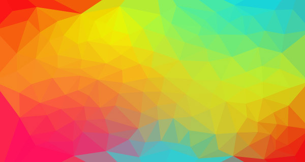 Colorful low poly background 4