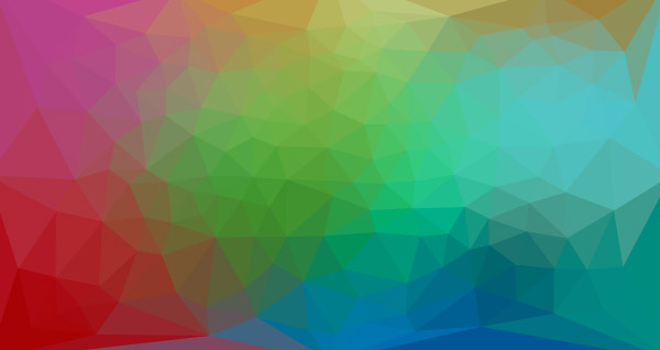 Colorful low poly background 5