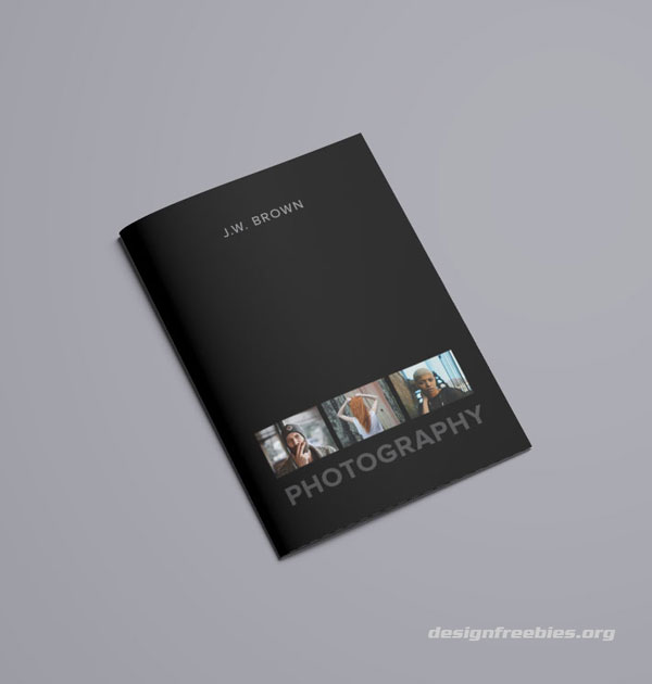 front cover designfreebies free indesign portfolio template