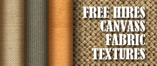 Free Textures: High Resolution Canvass Fabrics