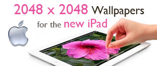 129 Free 2048 x 2048 Retina Display Wallpapers for the New iPad (iPad 3)