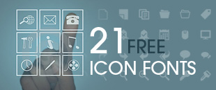 21 Free High-quality Icon Fonts