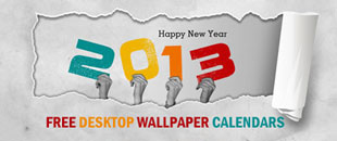 10 Free and Beautiful 2013 Desktop Wallpaper Calendars