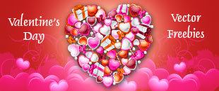 2013 Free Valentine's Day Vector Collection