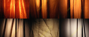 12 Free Illuminated Fabric Drape and Curtain Textured Backgrounds
