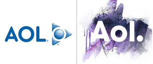Top 45 Logo Re-branding of 2009: Plus Preview on the New AOL Brand