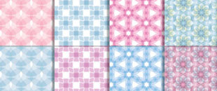 300 Free Seamless Photoshop Patterns (.PAT)