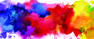 Free Lovely Vector Watercolor Paint Smudges
