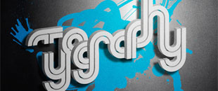 30 Astonishingly Fresh Examples of 3D Typography
