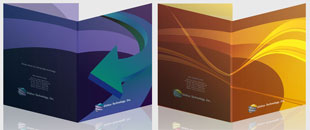 Free InDesign Templates: Presentation Folders 2